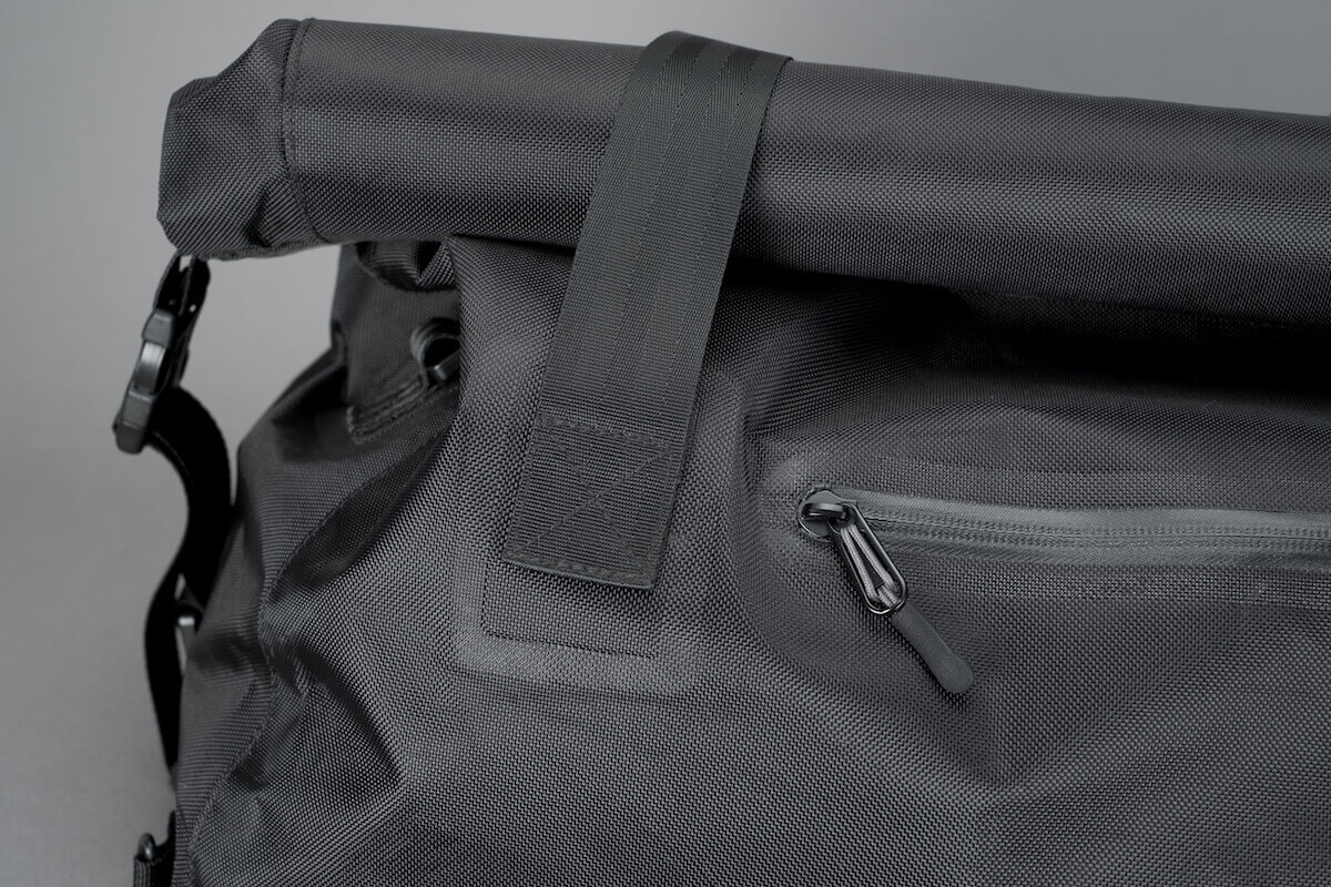 Tactical Rolltop Weekender Expands and Contracts as Needed