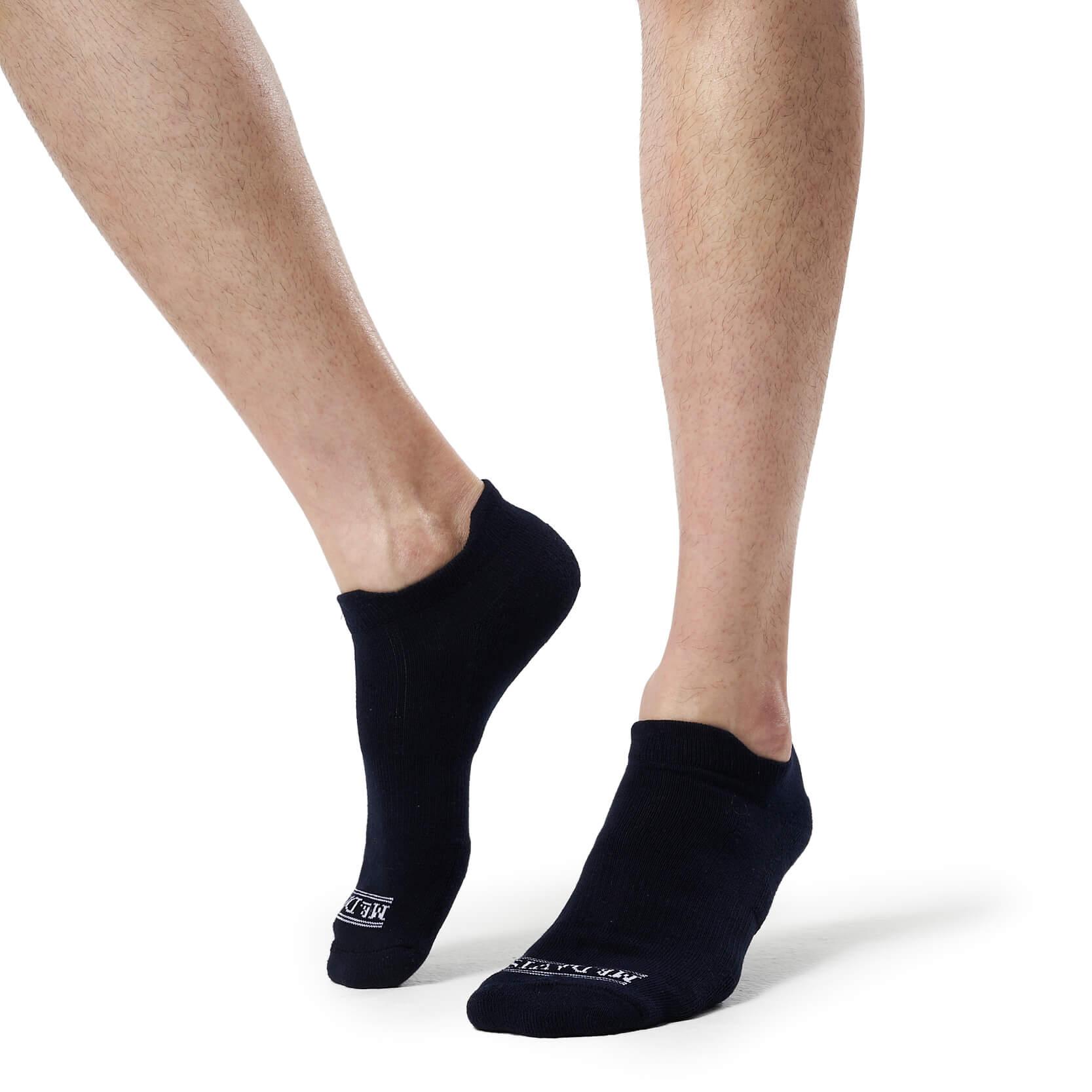 Navy Athletic Socks